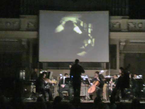 Nosferatu, Brno Contemporary Orchestra, foto Boris Klepal